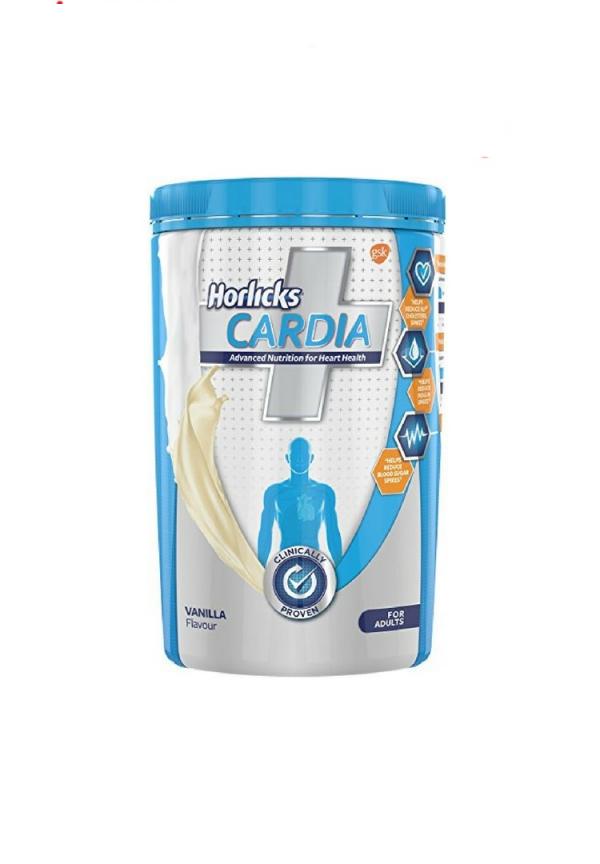 Horlicks Cardia Plus Vanilla 400 Grams Health Nutrition Drink For Diabetes Cardia