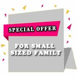 For Small Sized Family