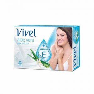 Vivel Bathing Soap Aloe Vera 100 Grams